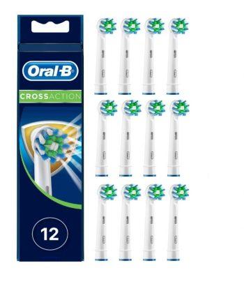 Oral-B Cross Action - Opzetborstels - 12 stuks