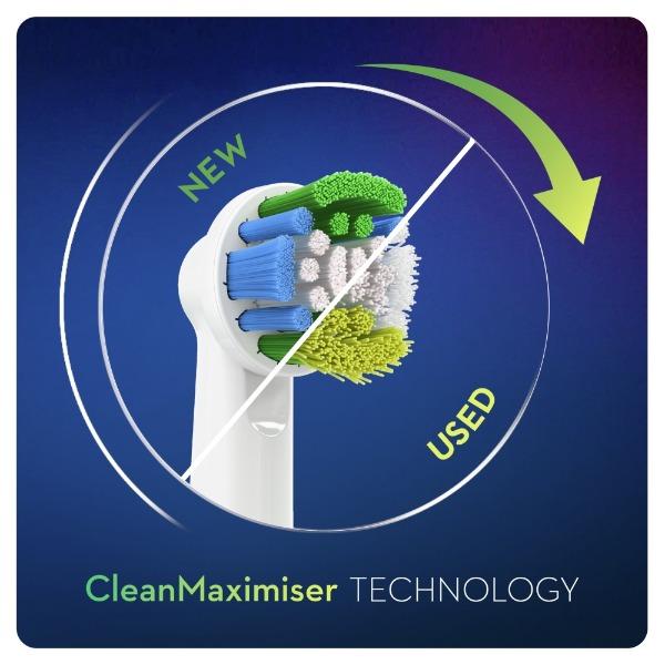 CleanMaximiser Technology borstels