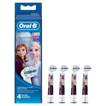 Oral-B Disney Frozen - Opzetborstels - 4 Stuks