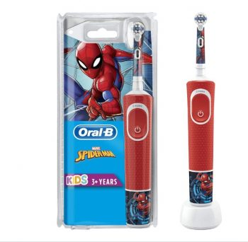 Oral-B Kids Spiderman Elektrische Tandenborstel