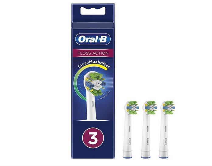 Oral-B Opzetborstels FlossAction 3 stuks