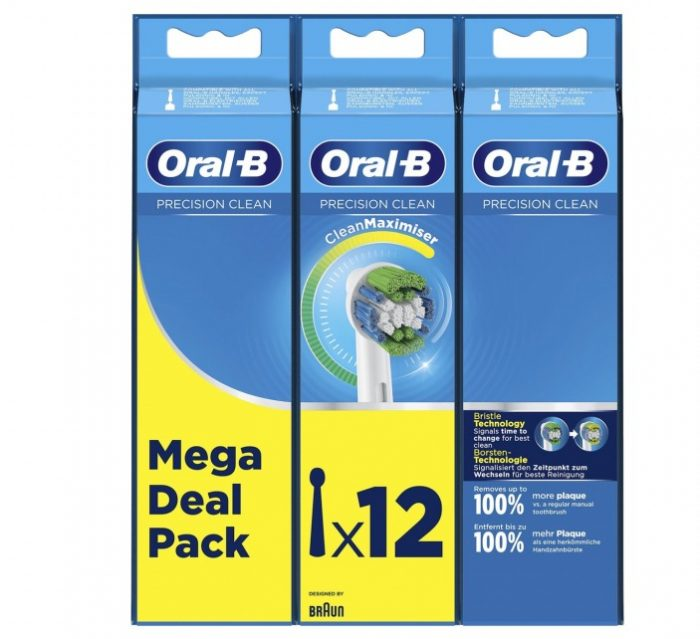 Oral-B Precision Clean Opzetborstel - 12 stuks - CleanMaximiser