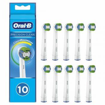 Oral-B Precision Clean - Opzetborstels - 10 Stuks