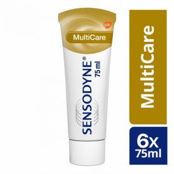 Sensodyne MultiCare Tandpasta voor gevoelige tanden 6x 75 ml