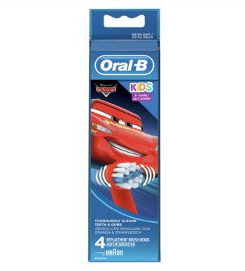 Oral-B Cars Opzetborstels 4 stuks