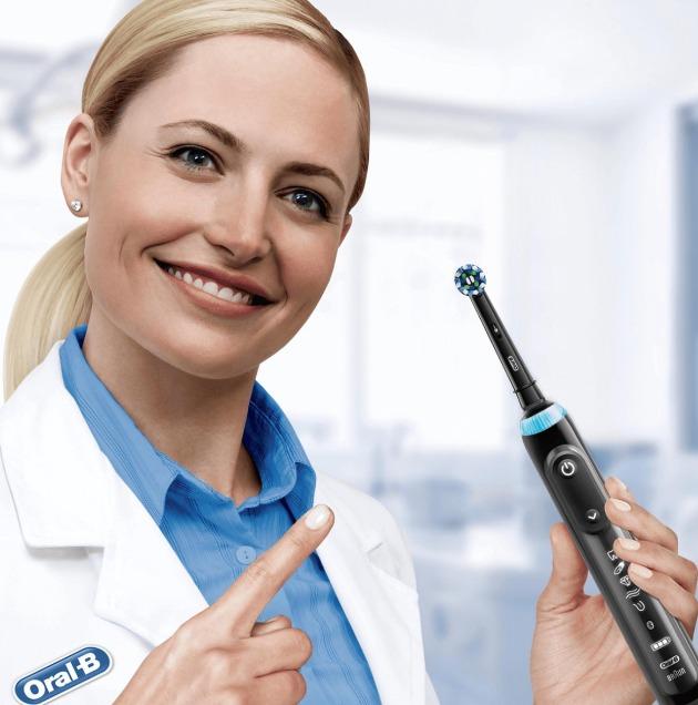 Oral-B Genius X Black elektrische tandenborstel