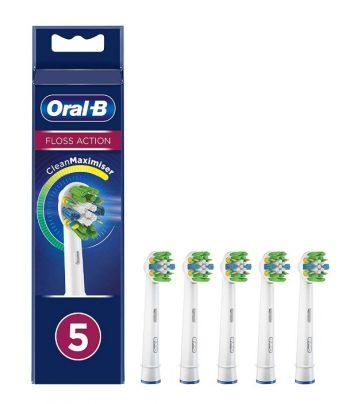 Oral-B Opzetborstel FlossAction - 5 stuks - Wit