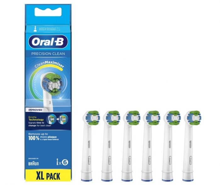 Oral-B Precision Clean 6 stuks - CleanMaximiser - Opzetborstels