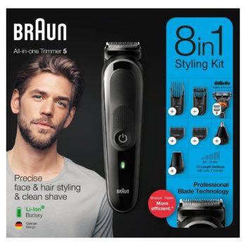 Braun MGK5260 8-in-1 Trimmer, Baardtrimmer - Gezichts- en haartrimmer jpg