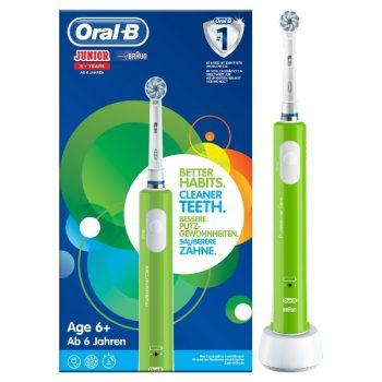 Oral-B Junior Elektrisch Tandenborstel 6+ - Groen