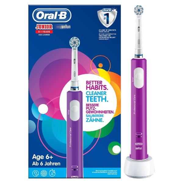 Oral-B Junior Elektrische Tandenborstel - Paars. jpg