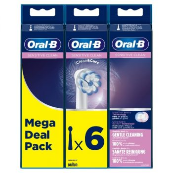 Oral-B Sensitive Clean - Opzetborstels - 6 stuks