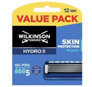 Wilkinson Sword Hydro5 Scheermesjes - 12 stuks - Skin Protection