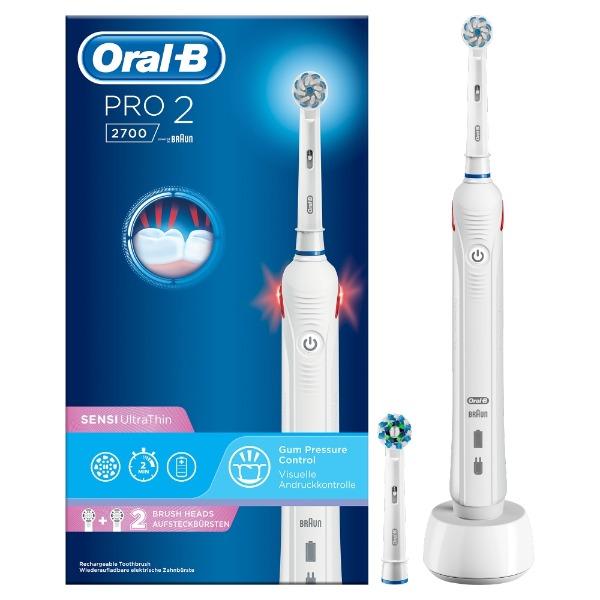 Oral-B Pro 2 2700 - Elektrische Tandenborstel - Wit