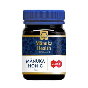 Manuka Health Honing MGO 100+ – 250 gram