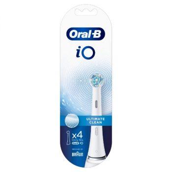 Oral-B iO Ultimate Clean Opzetborstels Wit - 4 stuks
